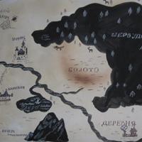 Карта Шервудского леса